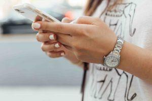 Textos adaptados a smartphones