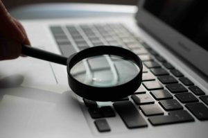 Icono de búsqueda para mejorar la conversión